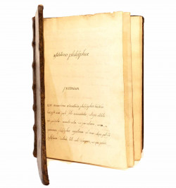 Manuscrit philosophique -...