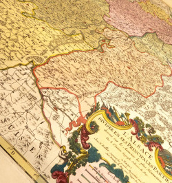 L'Alsace divisée en ses...