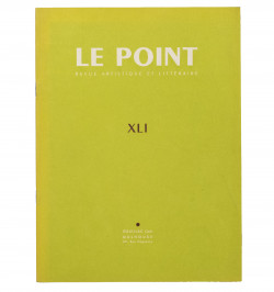 Revue Le Point. XLI. avril...