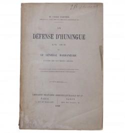 La Défense d'Huningue en...
