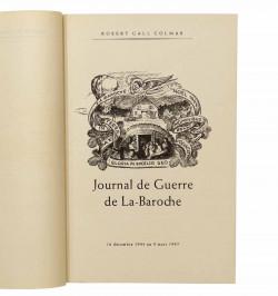 Journal de Guerre de...