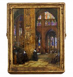 Intérieur de la cathédrale...