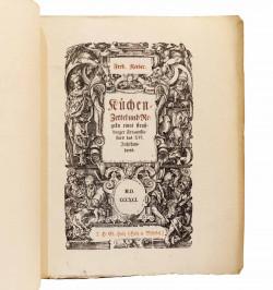 Kuechen-Zettel und Regeln...