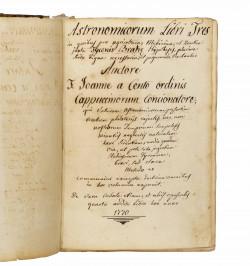 Astronomicorum libri tres...