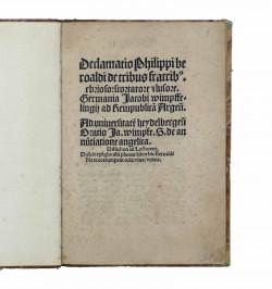 Declamatio Philippi...