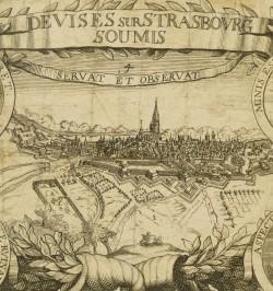 Devises sur Strasbourg...
