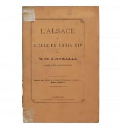 L'Alsace du siècle de Louis...