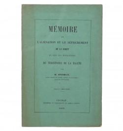 Mémoire sur l'aliénation et...