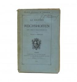 La journée de Reichshoffen...