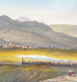 Panorama des Vosges et du...