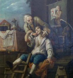 Dentiste - Peinture à...
