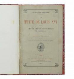 La fuite de Louis XVI...