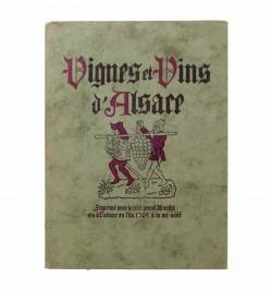 Vignes et Vins d'Alsace.