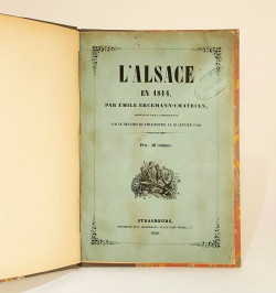L'Alsace en 1814,...