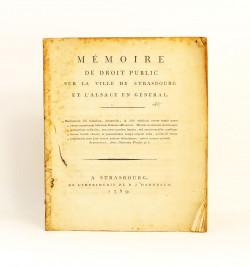 Mémoire de droit public sur...