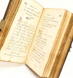 Livre de prière manuscrit -...